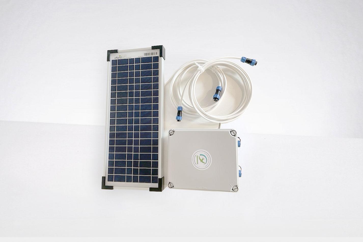Solar-Nachrüst-Set für Klangattrappe