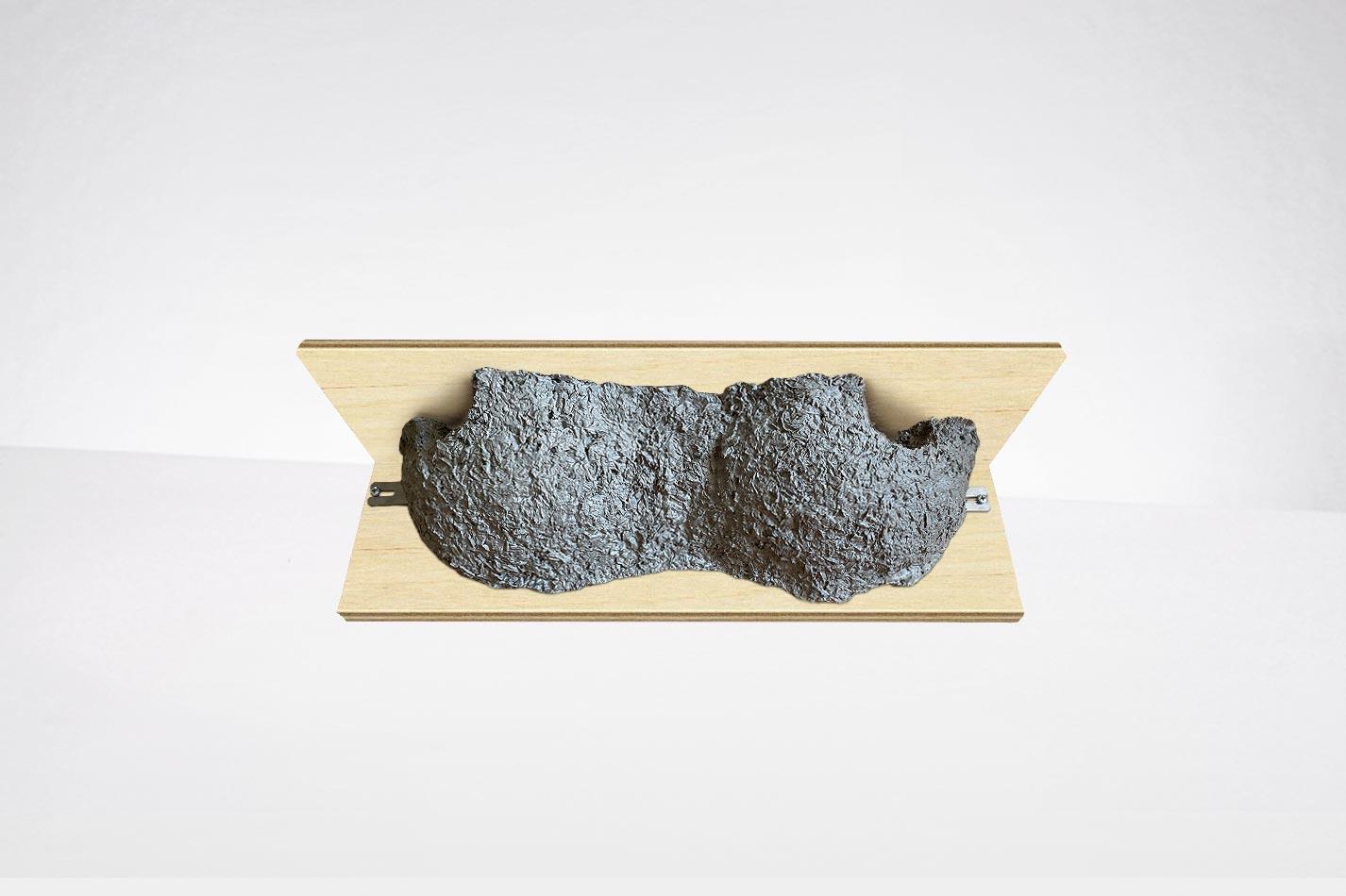 Nisthilfe für Mehlschwalben wie von Schwegler aus Holzbeton